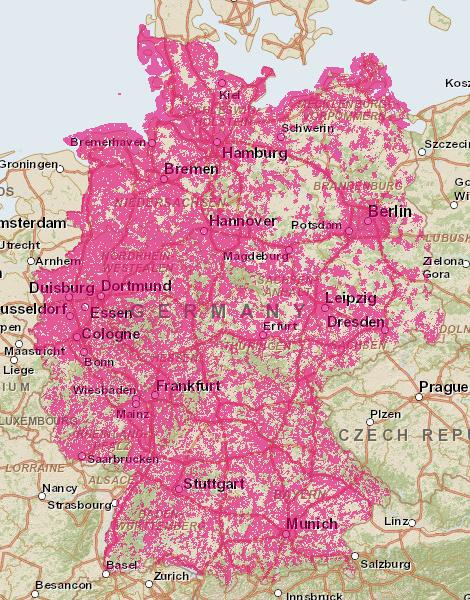 Telekom Lte Netzabdeckung Karte.Lte Surfsticks Im Vergleich Surfstick Online De